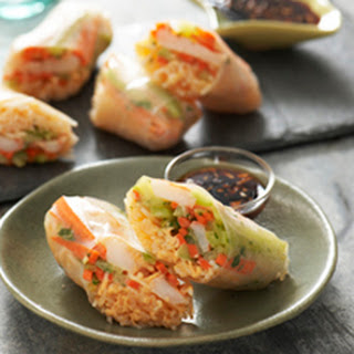 Shrimp Summer Rolls.