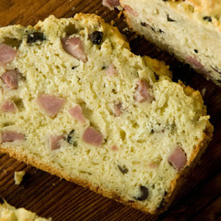 French Ham and Cheese Quick Bread.