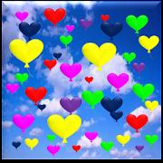 Heart Balloons WallPaper Pro