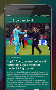 Gazeta - Ştiri din sport- screenshot thumbnail