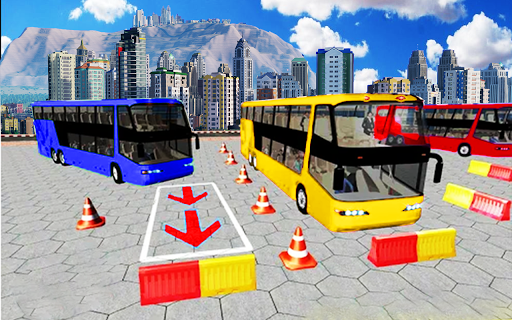 Advance Bus Parking Simulator: Driving games 2019 ss1