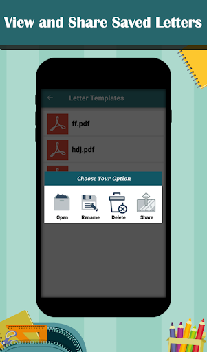 Letter Templates - Offline Cover Letter Template 1.0 screenshots 7