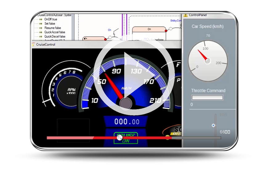 В 18 версии ANSYS пакет SCADE System для автомобильной отрасли позволяет разрабатывать ADAS-приложения, тестировать и сертифицировать сложные и глубоко интегрированные встроенные приложения, соответствующие требованиям стандарта на архитектуру автомобильных систем AUTOSAR и прочим отраслевым стандартам, таким как ISO-26262 и Open GL SC 2.0