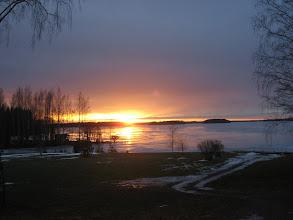 Photo: 22.02.2008 Karhijärvi Pajuniemen ranta.. huomaa kuinka vähän on lunta..