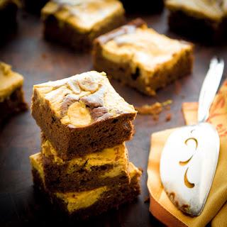 Pumpkin Pie Brownies.