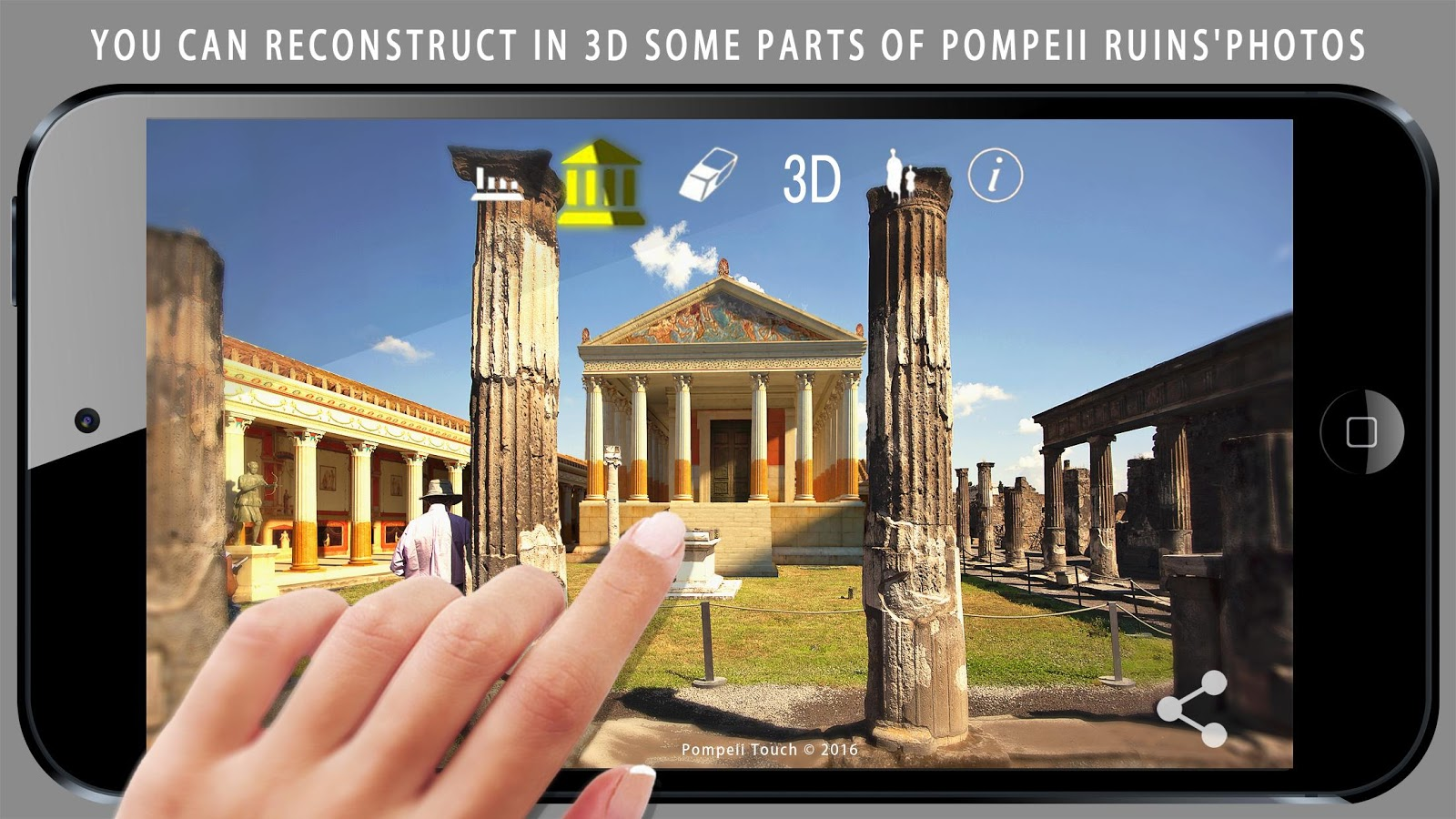 Pompeii Touch- screenshot