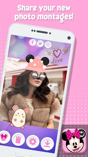 Minni Mouse Photo Stickers 1.0 screenshots 4