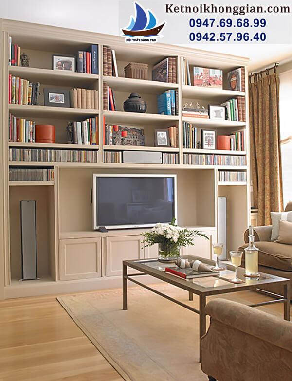 thiết kế phòng đọc sách gia đình bài bản