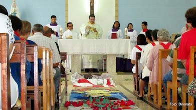 Photo: Missa de Corpus Christi  2014  - Paróquia N. sra. de Lourdes