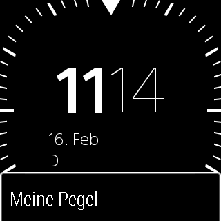 Meine Pegel- screenshot