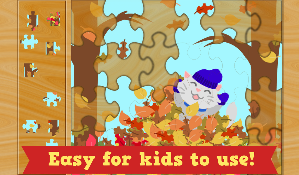 Thanksgiving Puzzles for Kids- screenshot
