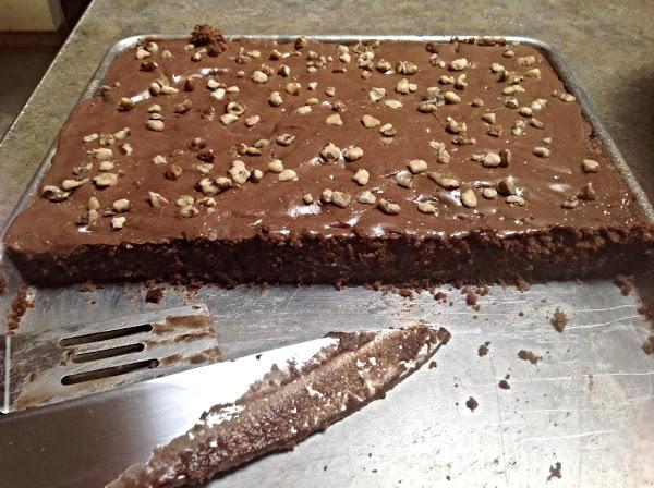 5 Minute Chocolate Cake & Frosting Recipe