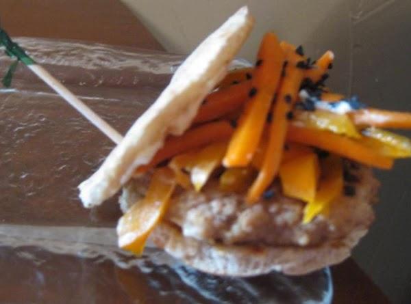 Maple Mystic Indian Chicken Sliders With Crunchy Carrot-jicama Slaw Recipe
