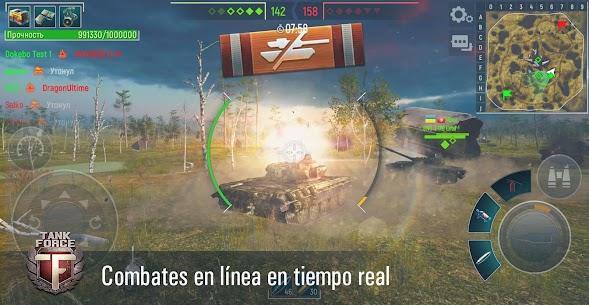 Tank Force: Juego de tanques en 3D 3