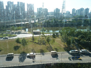 Photo: Beijing - view from new Song's place at river, photo taken 111001