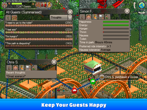RollerCoaster Tycoon® Classic - screenshot