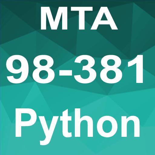 Python MTA 98-381