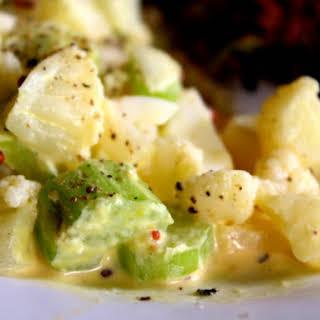 Low Carb Potato Salad.