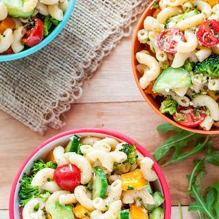 Classic Italian Veggie Pasta Salad Recipe
