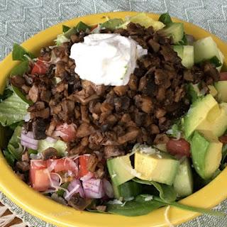 Gluten Free Taco Salad (Meat Free Option, too!).