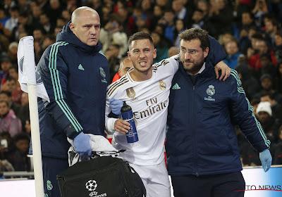 Zidane optimiste pour un retour d'Eden Hazard avant l'Euro !