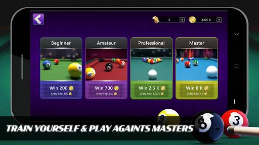 Code Triche 8 Ball Billiards- Offline Free Pool Game apk mod screenshots 2