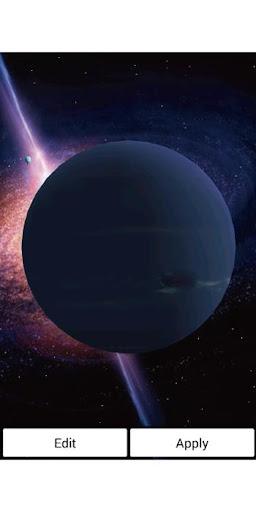 海王星 冥王星 ライブ壁紙 プロ