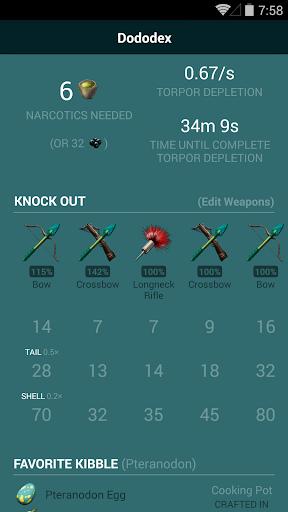 Dododex: Ark Survival Evolved 1.14 screenshots 2