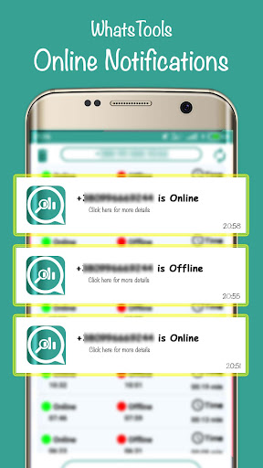 WhatsTools: Online Whats Tracker ,Cleaner Opener.. for PC