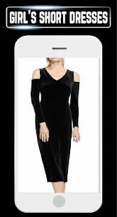 Latest Short Dress Ideas Girl Mini Fashion Designs - náhled