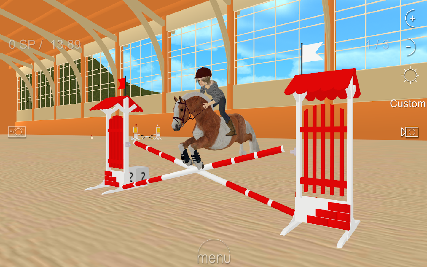 Jumpy Horse Show Jumping- screenshot