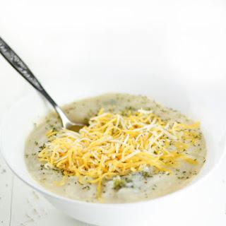 Dairy-Free Crockpot Broccoli Potato Soup