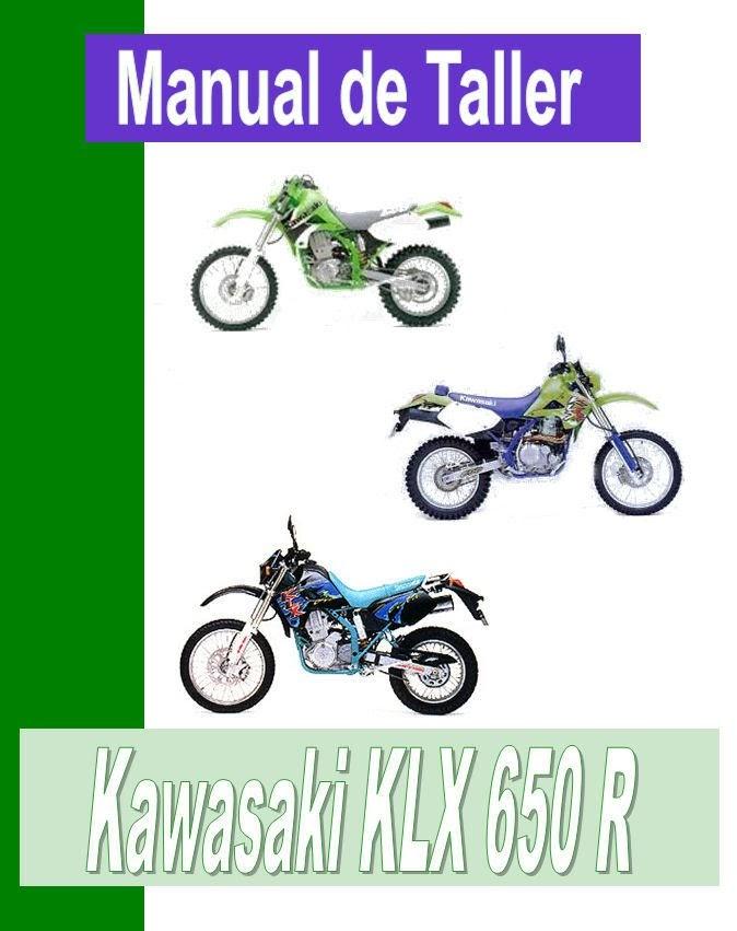 Kawasaki KLX 650-manual-taller-despiece-mecanica