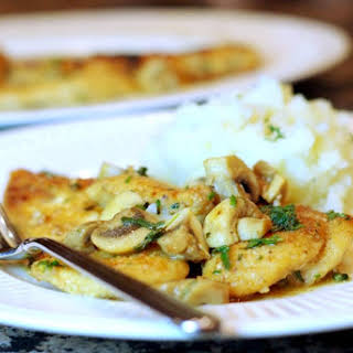 Breaded Chicken Cream Of Mushroom Recipes.