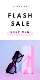 Flash Sale Today - Half Page Ad item