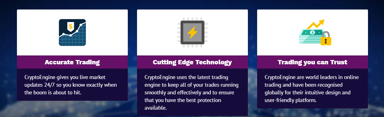 Crypto Engine Features