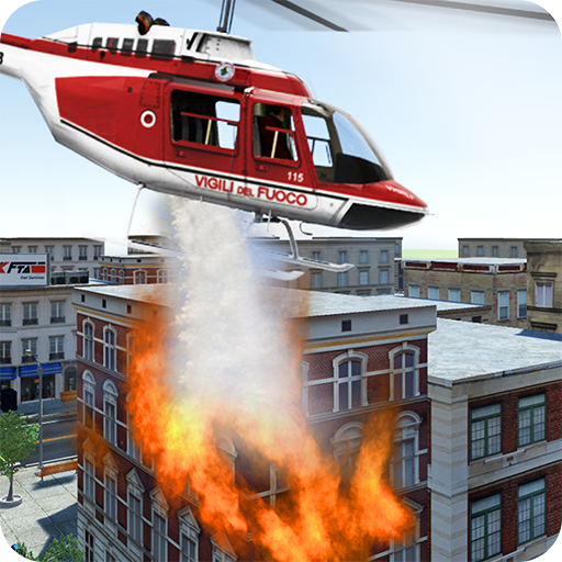 Modern Firefighter Helicopter (game)
