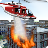 Modern Firefighter Helicopter