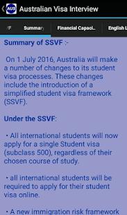 Australian Visa Interview - náhled