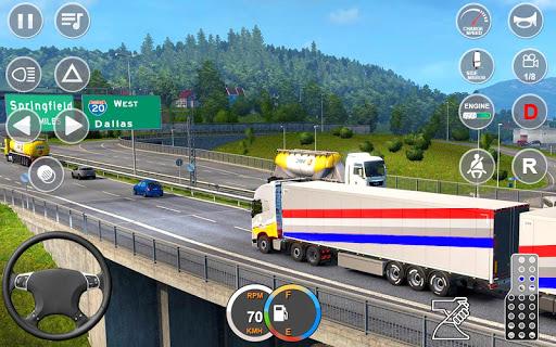 Indian Mountain Heavy Cargo Truck : Euro Truck Sim apkmr screenshots 11