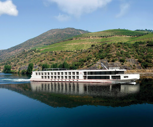 Viking-Torgil-2.jpg - The 106-passenger Viking Osfrid — which looks identical to sister ship Viking Torgil, shown here — offers scenic river cruises up and down Portugal's Douro Valley.