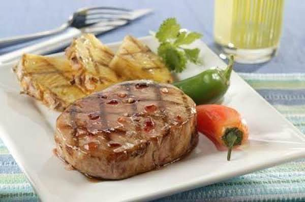 Fiery Island Pineapple Pork Chops Recipe