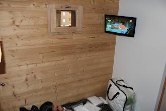 Photo: Coin cabine, TV écran 66 cm
