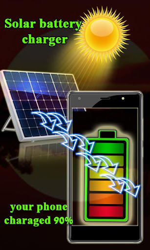 Solar Battery Charger 2018 Prank for PC