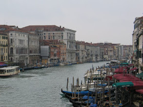 Photo: ... auf den Canale grande.