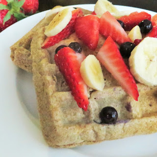 100% Whole Wheat Waffles Naturally Sweetened