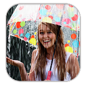 Rain Photo Effect : Video Maker