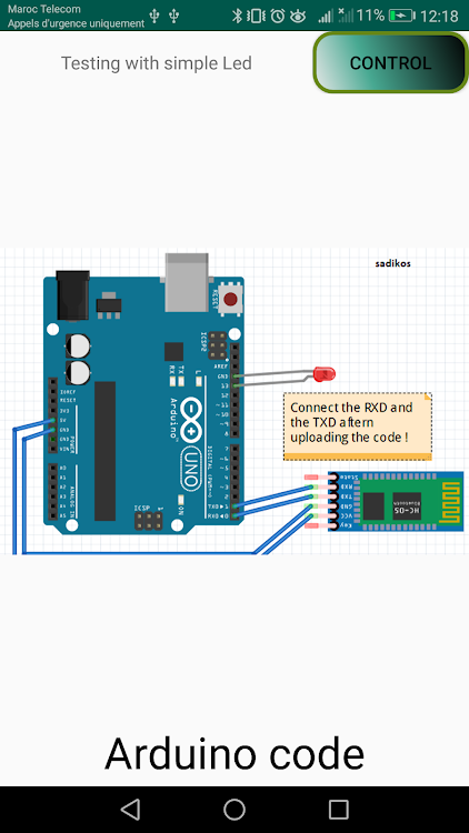Arduino Bluetooth controller & Tutorials – (Android Apps) — AppAgg