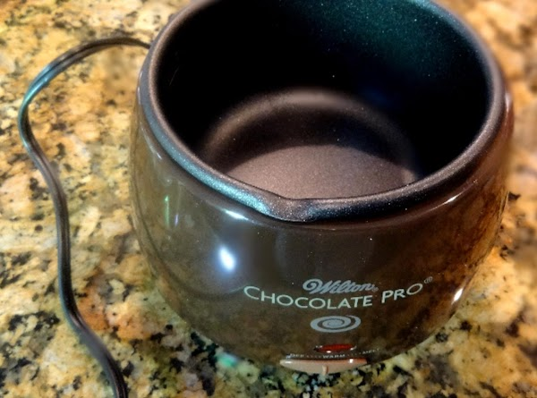 You will need to melt the chocolate using a double boiler. I use the...