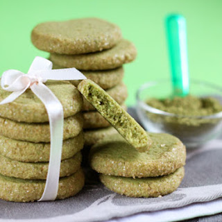 Matcha Sablé Cookies Recipe